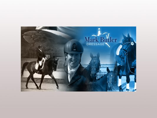 Mark Butler Dressage banner