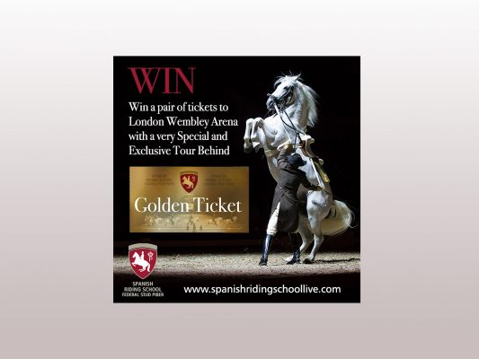 Spanish Riding School Win Tickets competition