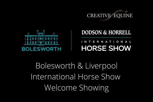 Showing at Bolesworth and Liverpool