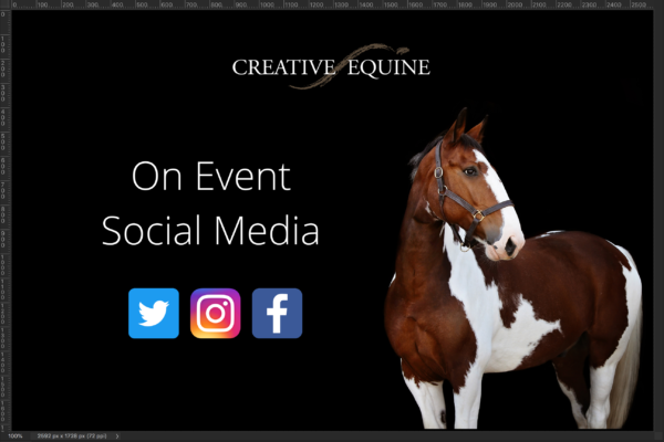 on event social media for equestrians